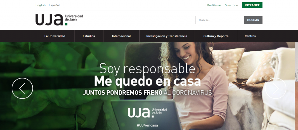 UJA universidad de Jaén